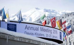 La forum de Davos a lieu du 20 au 26 janvier 2016.