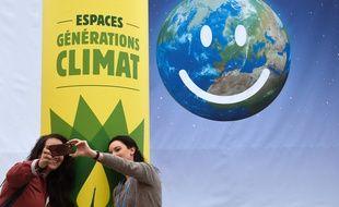 La décision de l'organisation d'un sommet mondial du climat à Nantes a été prise lors de la COP21. D.Faget/AFP