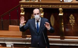 Jean Castex, le 1er avril 2021.
