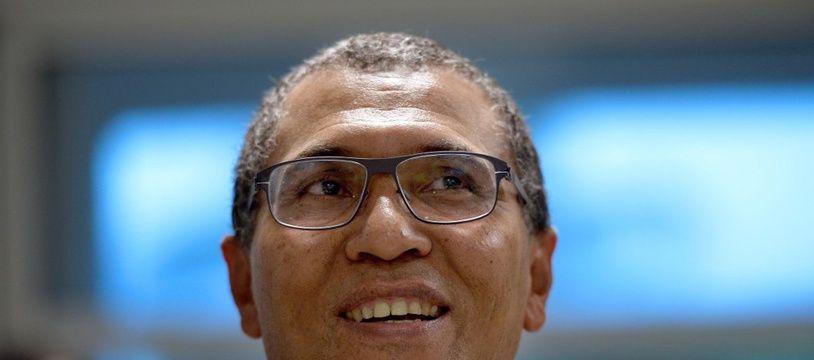 Jacques Bangou, maire de Pointe-à-Pître.