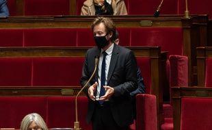 Le député des Landes Boris Vallaud, le 13 octobre 2020 à l'Assemblée.