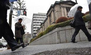 La banque centrale à Tokyo le 18 février 2015