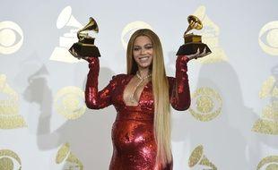 Beyoncé a remporté deux prix lors des 59ème Grammys Awards, le 12 février 2017.