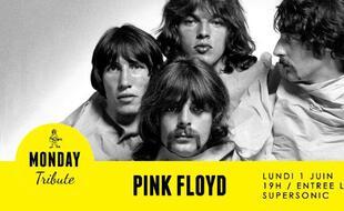 Le groupe des Pink Floyd