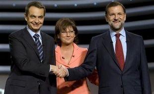 Le chef du gouvernement socialiste espagnol, José Luis Rodriguez Zapatero a semblé conforter son statut de favori sur son opposant de droite, Mariano Rajoy, en remportant selon les sondages le second débat télévisé de la campagne pour les élections législatives du 9 mars.