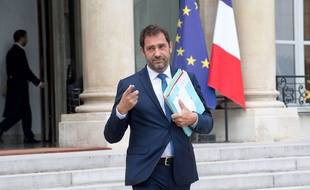 Christophe Castaner , le 9 août 2017 à Paris. Credit:VILLARD/SIPA.