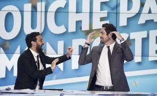 Cyril Hanouna et Camille Combal dans «Touche pas à mon poste».