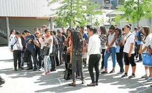 Le collège Aimé-Césaire, situé au sud, pourrait accueillir de nouveaux élèves.