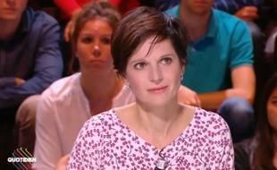 Sandrine Rousseau dans «Quotidien» le 4 octobre 2017.