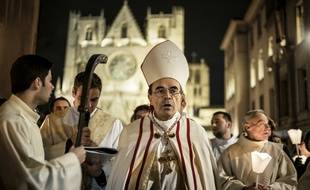 L'archevêque de Lyon, Philippe Barbarin assure qu'il n'a « jamais couvert d'actes de pédophilie dans l'Eglise »