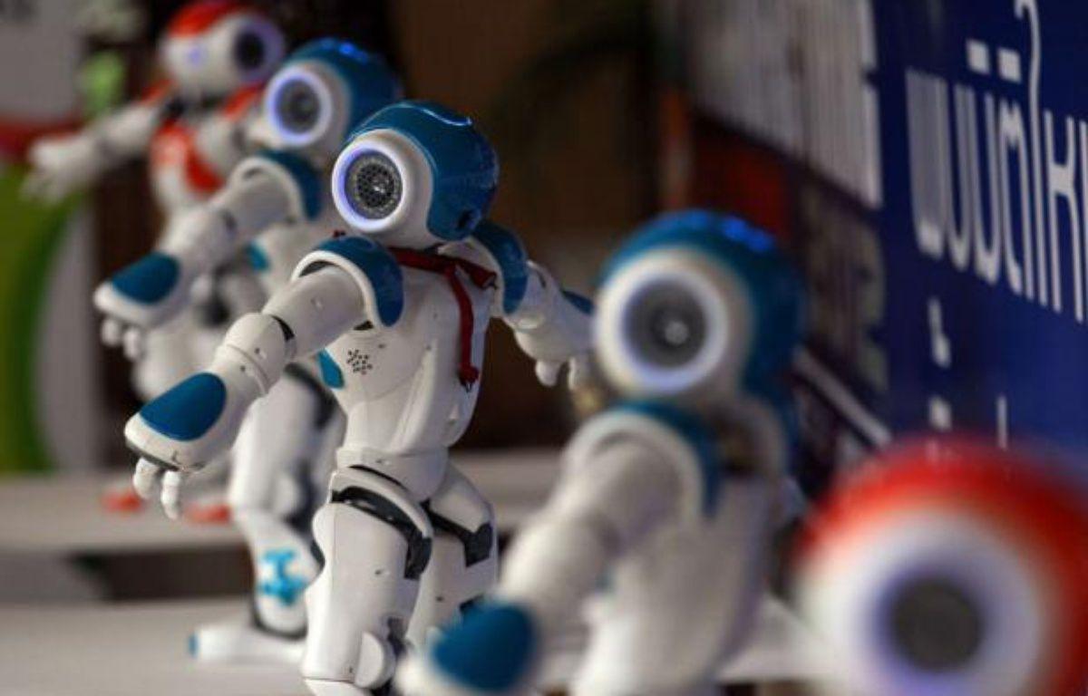 Des robots humanoïdes «Nao» le 19 juin 2012 à Bangkok, en Thaïlande – Sakchai Lalit/AP/SIPA