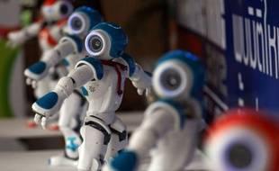 Des robots humanoïdes «Nao» le 19 juin 2012 à Bangkok, en Thaïlande