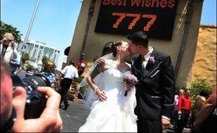 Un mariage célébré à Las Vegas le 7 juillet 2007.