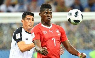 Johnny Acosta lors du match contre la Suisse, le 27 juin 2018.