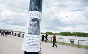 Julien Teyssier a disparu dans la nuit du 27 au 28 avril, à Bordeaux