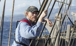 Ron Howard sur le tournage d'Au cœur de l'océan
