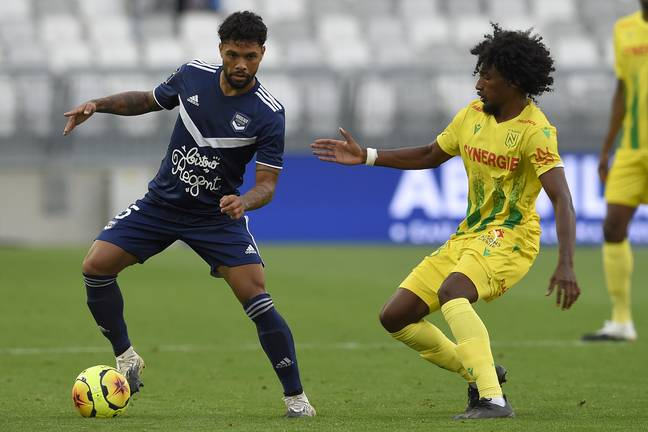 Otavio, le milieu de terrain brésilien des Girondins de Bordeaux.