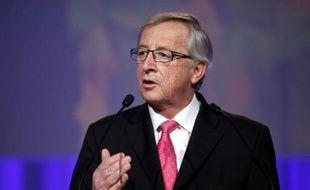L'ancien Premier ministre luxembourgeois Jean-Claude Juncker, candidat du PPE européen pour la présidence de la Commission européenne.