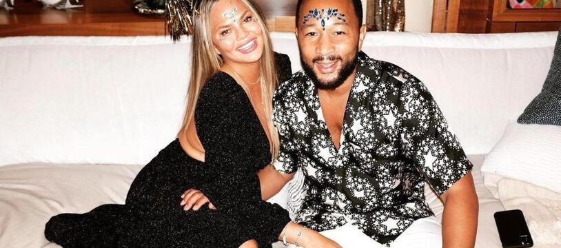 La mannequin Chrissy Teigen et son mari, le chanteur John Legend