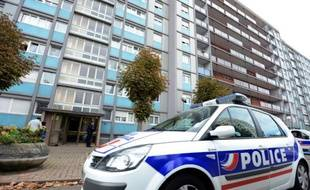 Une voiture de police, à Strasbourg le 6 octobre 2012