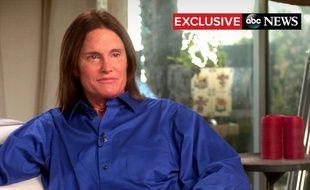 Bruce Jenner interviewé sur ABC en avril 2015.
