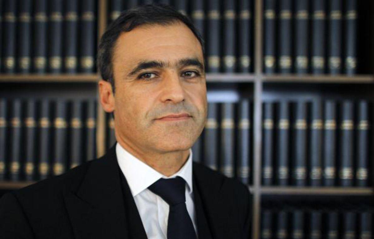 Pascal Wilhelm, l'avocat de Liliane  Bettencourt, le 22 septembre 2010 à Paris. – PATRICK KOVARIK / AFP