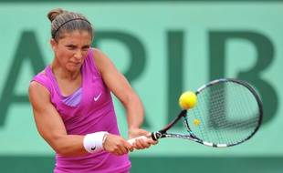 Sara Errani à Roland-Garros le 1er juin 2012.