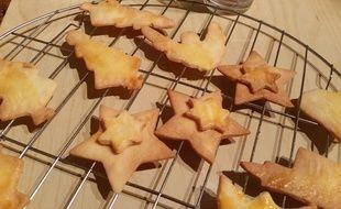 En Alsace, les breledes, traditionnels gâteaux de Noël, demandent notamment du beurre. Y en aura-t-il en rayon en décembre et pour les artisans pâtissiers ? Illustration