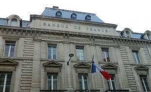 La Banque de France, rue Esprits des lois à Bordeaux.