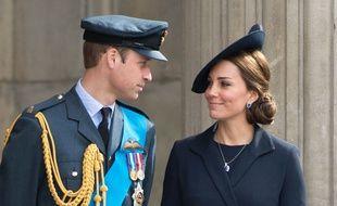 Le prince William et Kate Middleton à la Cathédrale St Paul à Londres en mars 2015