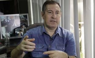 Le journaliste brésilien Rafael Henzel est un des survivants du crash aérien qui a décimé l'équipe de Chapecoense, en novembre 2016.