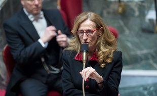 La ministre de la Justice Nicole Belloubet à l'Assemblée nationale le 30 janvier 2018.