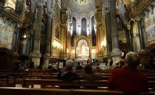 A la basilique de Fourvière.