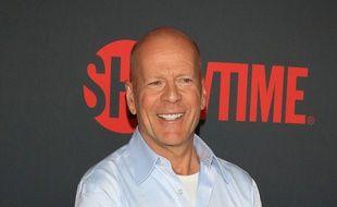 L'acteur Bruce Willis à Las Vegas