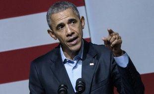 Le président américain Barack Obama à San Fracisco, en Californie, le 10 octobre 2015