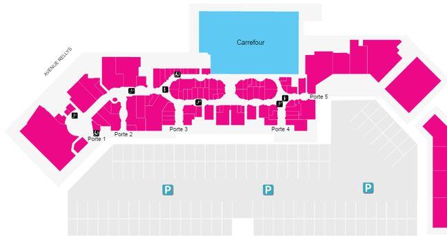 Marseille le centre commercial grand littoral se porte tr s bien malgr son ge - Centre commercial grand littoral marseille ...