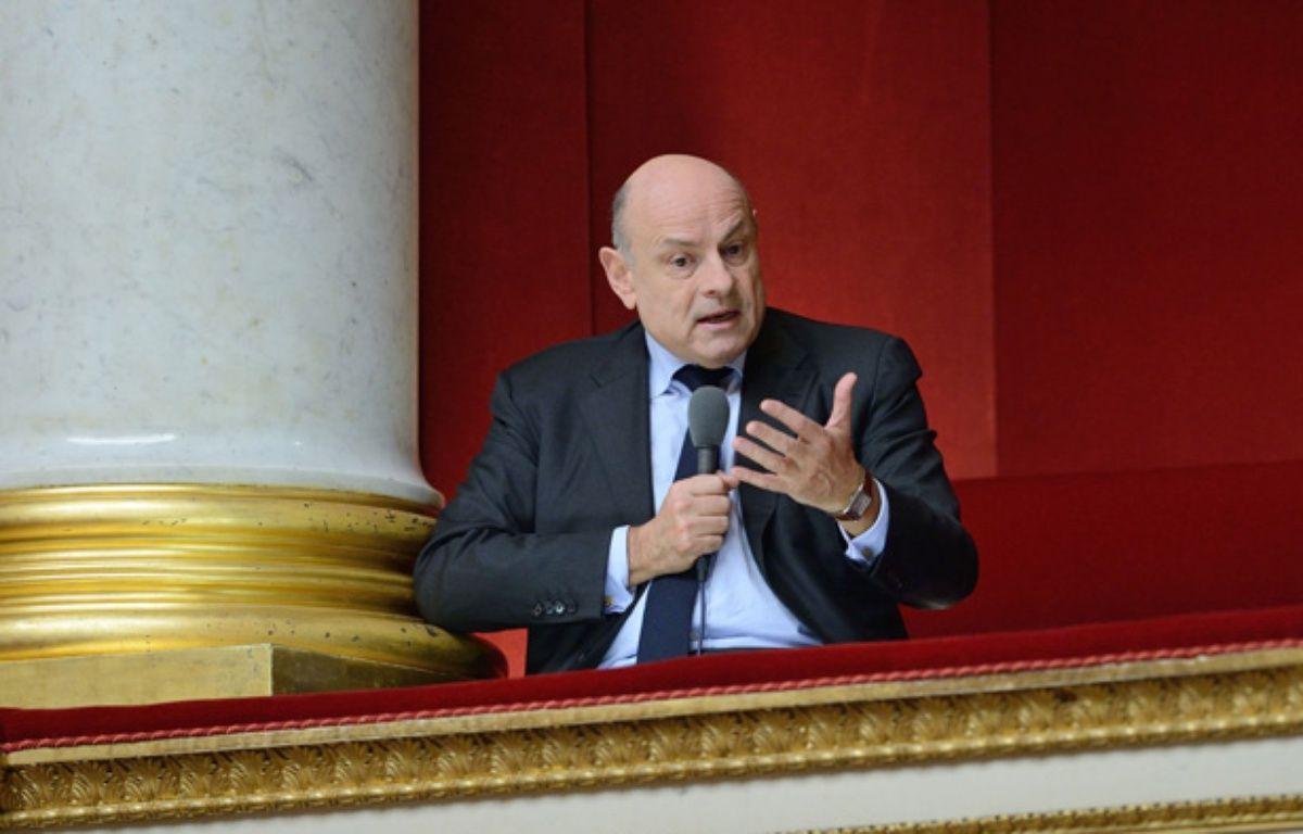 Jean-Marie Le Guen, secrétaire d'Etat chargé des Relations avec le Parlement, ici le 12 décembre 2013. – WITT/SIPA