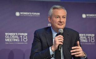 Bruno Le Maire, le 15 novembre 2018 au Women's Forum.