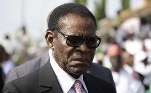 Le président de la Guinée équatoriale, Teodoro Obiang Nguema, en 2015.