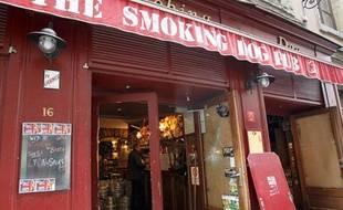 Le bar de Lyon dans lequel ont été attaqué les supporters de Tottenham, le 21 février 2013.