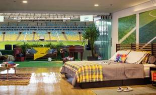 La chambre au Maracana proposée par Airbnb.