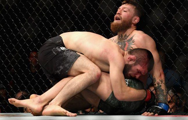 MMA: Khabib provoque une bagarre générale après sa victoire sur McGregor