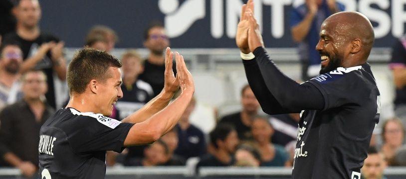Nicolas De Préville et Jimmy Briand sont des spécialistes des buts en début de match.