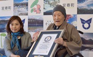 Le nouveau doyen de l'humanité est un Japonais de 112 ans