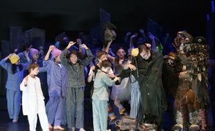 L'opéra «Brundibár» est joué par de jeunes Toulousains au théatre Jules-Julien, le 24 mars 2017.