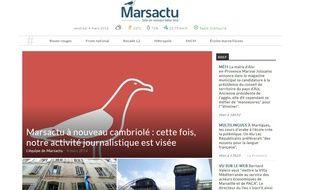 Le site Marsactu.