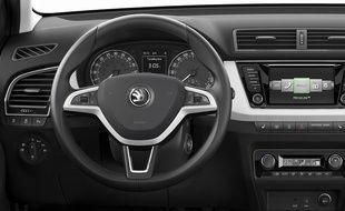 Nouvelle Škoda Fabia: De l\'espace et de la technologie