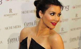 Kim Kardashian à l'hôtel Hilton de Washington, le 1er mai 2010.