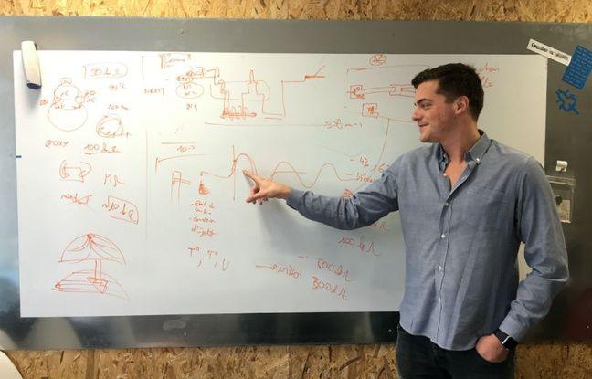 Hugo Mercier, cofondateur et patron de la start-up Rythm.