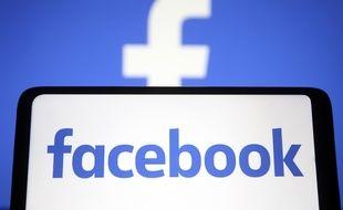 Le logo du réseau social Facebook. (illustration)